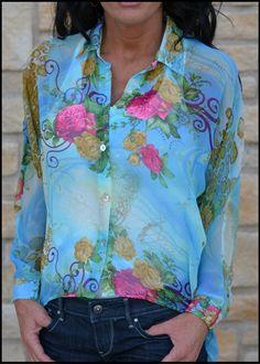 Megan's Lifestyle Boutique - Aqua Grace Blouse by Six Degrees, (http://www.meganslifestyleboutique.com/aqua-grace-blouse-by-six-degrees/)