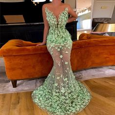 Mint Green Muslim Evening Dresses 2019 Mermaid Tulle Flower Pearls See Through Dubai Saudi Arabic Long Evening Gown Prom Dress Mermaid Prom Dresses, Cheap Prom Dresses, Pageant Dresses, Formal Dresses, Court Dresses, Muslim Evening Dresses, Long Evening Gowns, Mermaid Evening Gown, Prom Outfits
