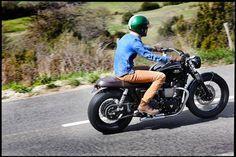 Dandy Bonnie by BAAK Motocyclettes #Triumph #Bonneville #T100
