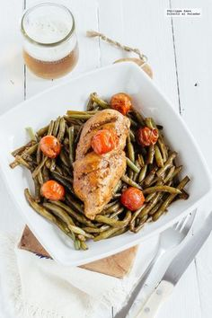 Pollo en reducción de balsámico y verduras. Receta | Directo Al Paladar | Bloglovin'