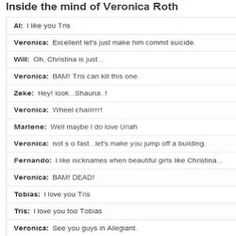Divergent, why Veronica?!