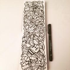 Kawaii Moleskine Doodle by Miss Wah Instagram: @lil_wah misswah.com http://facebook.com/littlemisswah