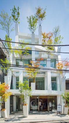 Omotesando Branches / Architect: Sou Fujimoto ( ¨ . Architecture Du Japon, Green Architecture, Concept Architecture, Residential Architecture, Architecture Details, Landscape Architecture, Building Architecture, Ancient Architecture, Sou Fujimoto
