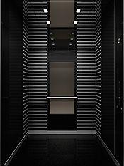 Dark and elegant design, executive elevator by Kone _ - Hotel Interior - Tour Stair Elevator, Elevator Design, Elevator Lobby, Hotel Interiors, Office Interiors, Lobby Interior, Interior Architecture, Restaurant Hotel, Hotel Corridor