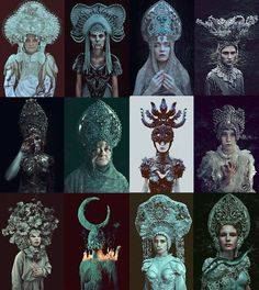 I would like to wish the happiest of birthdays to one of the best photographers I've had the pleasure to work with dear @marcin_nagraba❤ keep on rocking!! (on photo our 'Pagan poetry' series, my designs by Marcin) #agnieszkaosipa #folklore #costume #headpiece #headgear #kokoshnik #slavic #darkness #dark #black #white #jewellery #embroidery #ornaments #portrait #evil#majestic