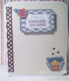 Latina Crafter - Sellos en Español: Gracias por Existir
