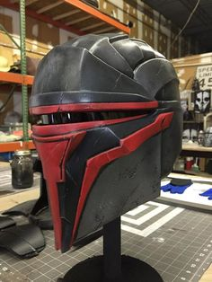 D&d Star Wars, Star Wars Masks, Star Wars Helmet, Star Wars Love, Jedi Armor, Helmet Armor, Mandalorian Armor, Darth Revan Mask, Cosplay Armor Tutorial