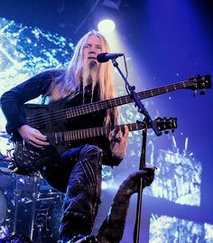 Marco Hietala - Photo from Nightwish tour 2015