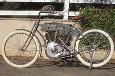 1908 Harley Davidson Model 4 Strap Tank Silent Gray Fellow