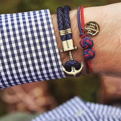 Perfect bracelet combination from @paul_hewitt for every occasion. #paulhewitt