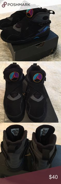 Jordan retro 8 Children size 12 Jordan retro 8. Jordan Shoes Sneakers