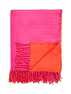 colorblock throw blanket by kate spade new york