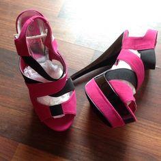 Heels New in box 6inch heels Rck Bella Shoes Heels