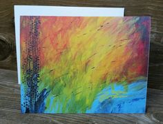 Check out this item in my Etsy shop https://www.etsy.com/listing/238382970/abstract-print-notecard