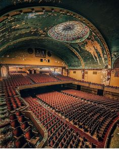ABANDONED THEATRE.........