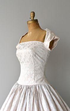 Toujours Toujours dress brocade 1950s dress by DearGolden