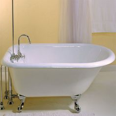 The Cabuchon Calyx deep soaking bath is the minimalist version of