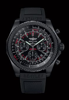 Breitling for Bentley the Bentley Lignt Body Midnight Carbon