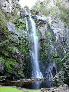 A Waterfall on the River Toxa (Galicia) | Webflakes