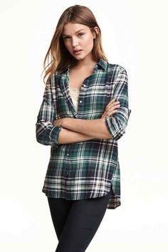 Flanelová košile | H&M