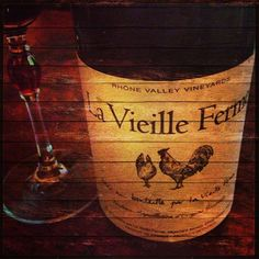 La Vieille Ferme Red I only like the white....................s