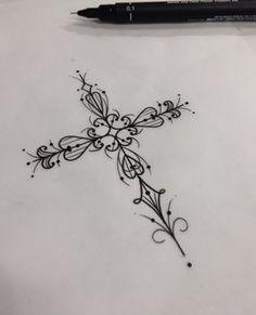 "1,170 Likes, 49 Comments - ⠀⠀⠀⠀⠀⠀⠀⠀⠀⠀⠀Pink Becker (@pinkbecker) on Instagram: ""•cruz• New Tattoo You Av. Dr Cardoso de Melo, 320 Vila Olímpia- São Paulo Fone:(11)3044-0442…"""