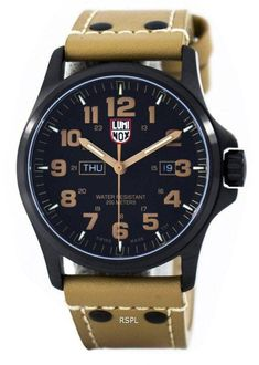 Luminox Atacama Field Day Date 1920 Series Swiss Made Mens Watch Bl Field Day, 200m, Navy Seals, Brushed Stainless Steel, Night Vision, Watches For Men, Quartz, Dating, Crystals