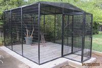 Massive Flight Bird cage aviary - WANT!!!
