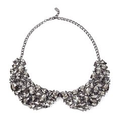 """Still love these collars... Sole Society """"Peter Pan Stone Collar"""""""