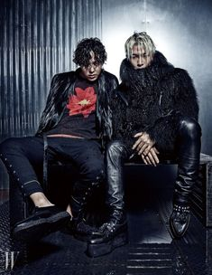 GD & Taeyang (Bigbang) - W Magazine November Issue '14