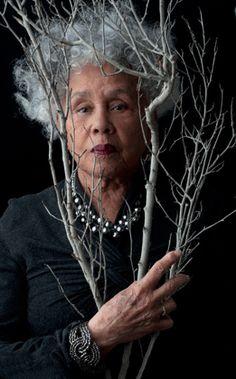 Betye Saar, artist, at 86, 2012; Image by Michele Mattei