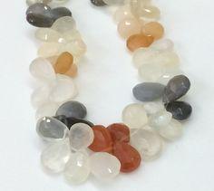 Multi Moonstone Beads  Multi Moonstone Faceted by gemsforjewels