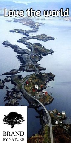 Love the world Atlantic Ocean Road in Norway