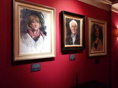 Fantastic press launch last night for Poetry Portraits. The paintings are now up in the Bloomsbury Hotel outside the Seamus Heaney Library - do come see!