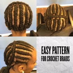 Braid Pattern For Crochet Braids Pictures american and african hair braiding something simple Braid Pattern For Crochet Braids. Here is Braid Pattern For Crochet Braids Pictures for you. Braid Pattern For Crochet Braids braid pattern hair patte. Crotchet Braid Pattern, Crochet Braid Styles, Crochet Twist, Crochet Hair, Crotchet Styles, Simple Crochet, Chrochet, Crochet Braids Hairstyles, African Braids Hairstyles