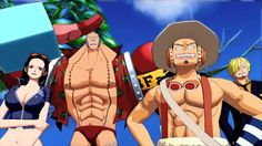 One Piece Unlimited World Red New Characters Details