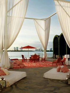 Our neighbor, the Mondrian Hotel. great spot for happy hour. Mondrian South Beach, winner of the Fodor's 100 Hotel Awards for the Design category South Beach Miami, Miami Florida, South Florida, Florida Beaches, Downtown Miami, Visit Florida, Ad Mexico, Best Boutique Hotels, Beach Boutique
