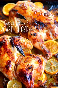 This Citrus Glazed Roast Chicken boasts robust citrus flavors and the juiciest…