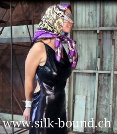 scarfbondage scarffetish seidentuch blindfold gag scarves