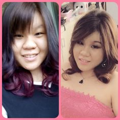 My girl..before en after