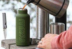 Fancy - Vacuum Sealed Insulated Stainless Steel Bottle By Mizu