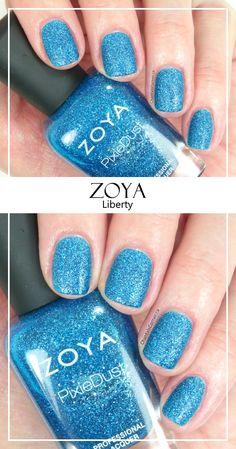 Zoya PixieDust Nail Polish in Liberty