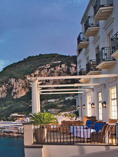 Place Capri Hotel - Luxury Hotel Capri - Five Stars Hotel in Capri - Boutique Hotel in Capri - Official Site Hotels And Resorts, Best Hotels, Luxury Resorts, Beautiful Places To Travel, Wonderful Places, Vacation Places, Vacations, Affordable Hotels, Capri Italy