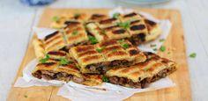 Steak,mushrooms, pie, recipe