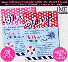 Nautical,+Sailor+Invitations+-+Digital+Invitation+File+or+Printed+Invitations+available Created+By+Metro-Event.com Welcome+To+Metro-Events+Party+Files+&+Prints Please+review+the+individual+listing+in+our+shop+for+full+details+of+each+item: CHECK+OUT+MY+STORE+ON+ZAZZLE!+OTHER+MATCHING+PARTY+IT...