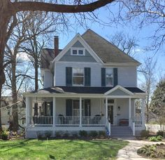 This Kirkwood home is the classic Victorian / classic farmhouse style.