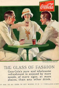 Coca Cola ~ Did someone taint the Coke with Polio or is that just your drinking pose? You flirt!