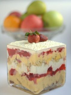 #Spinning® - Heart Healthy Foods/Recipes. Trifle Indulgence, #delicious #yummy #hearthealthy