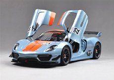 1:24 Welly Porsche 918 RSR Diecast Model Car New in Box   Die Cast Model Cars