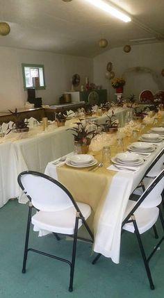 Table Decorations, Country, Furniture, Home Decor, Rural Area, Country Music, Interior Design, Home Interior Design, Arredamento